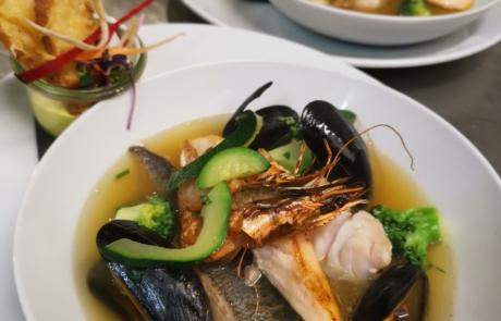 Fischsuppe - Trattoria Il Piccolo Cuoco Ratingen